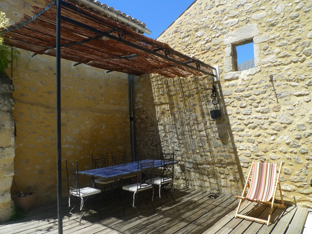village house for sale In Drome Saint Restitut Spacious and Sunny terrace