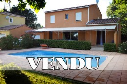Villa At 30mn south of Montelimar Close to St Paul 3 Châteaux In a private housing estate