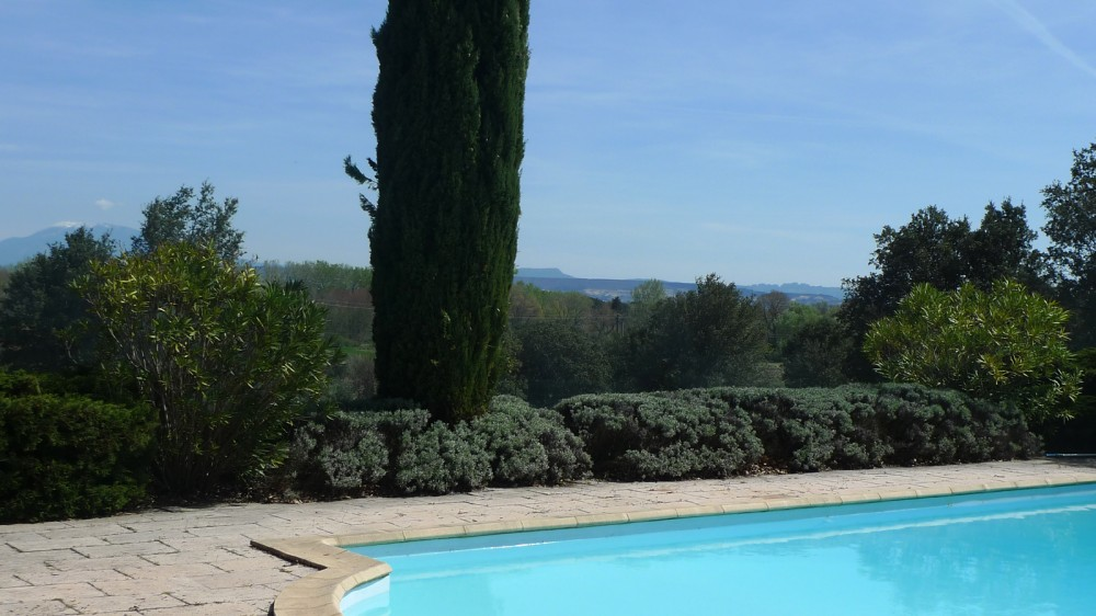 Villa The Mont Ventoux in front of you! Drôme Provençale closed to Grignan