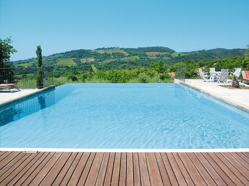 Renovated stone mas for sale closed to Nyons Drôme Provençale dominating view